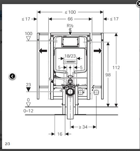 bati support extra plat en applique duofix sigma 8 cm geberit. Black Bedroom Furniture Sets. Home Design Ideas